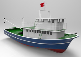 Wooden Fishing Boat / Construction