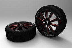 Alloy Wheel and Tire - Concept
