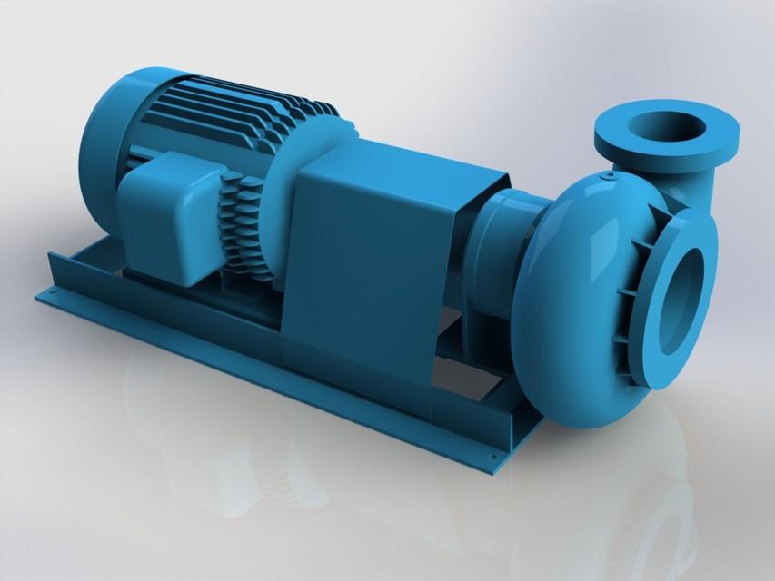 SOLIDWORKS, pump - Most downloaded models | 3D CAD Model