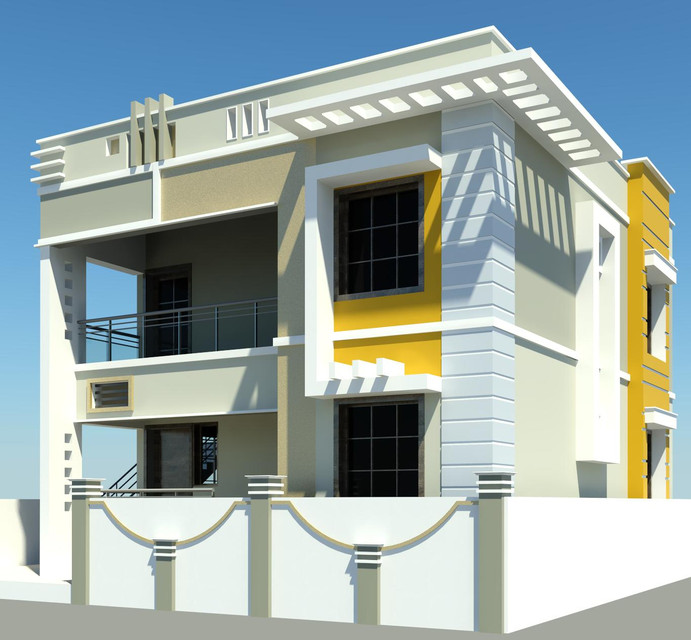Front Elevation Design In Revit : Modern house autodesk revit d images awesome