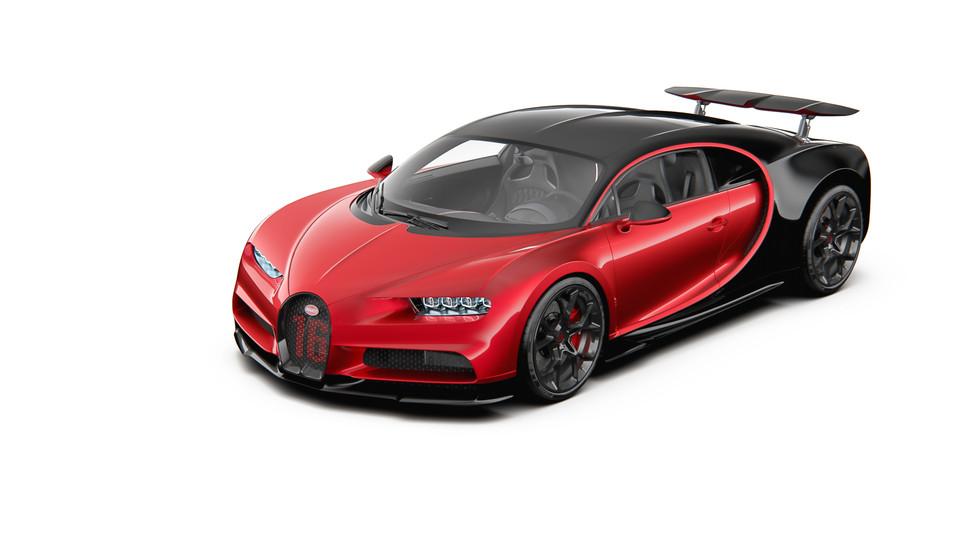 Bugatti Chiron Sport 2019 3d Cad Model Library Grabcad