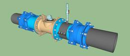 water meter DN 250