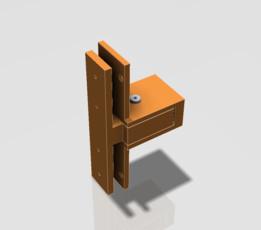 Harmon Style Door Hinge