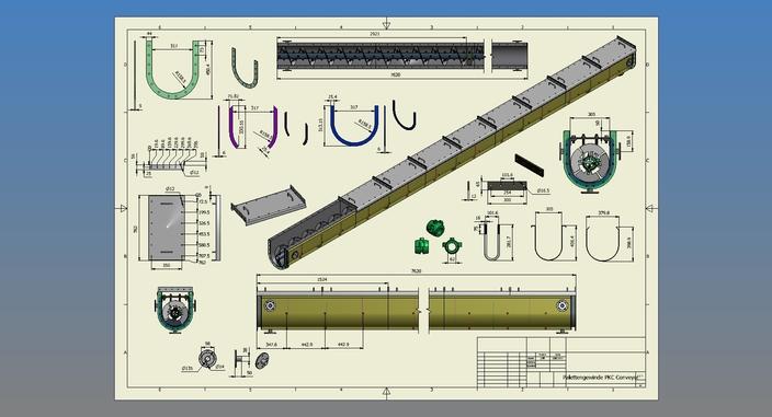 Palettengewinde PKC Conveyor
