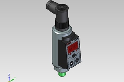 Pressure switch with plug