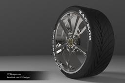 Tyre & Rim (XAC-R02)