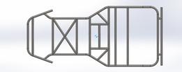 Go kart frame | Tested | Static structural