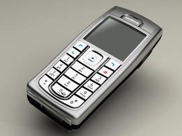 A Nokia 6230i mock-up