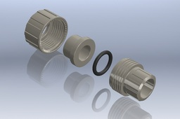 "1/2"" Polypropylene Socket Union"