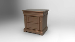 Bed Side Table with drawers