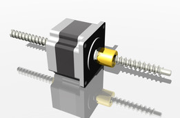 Stepper motor actuator