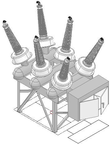 Hv Siemens Sps2 Power Circuit Breaker