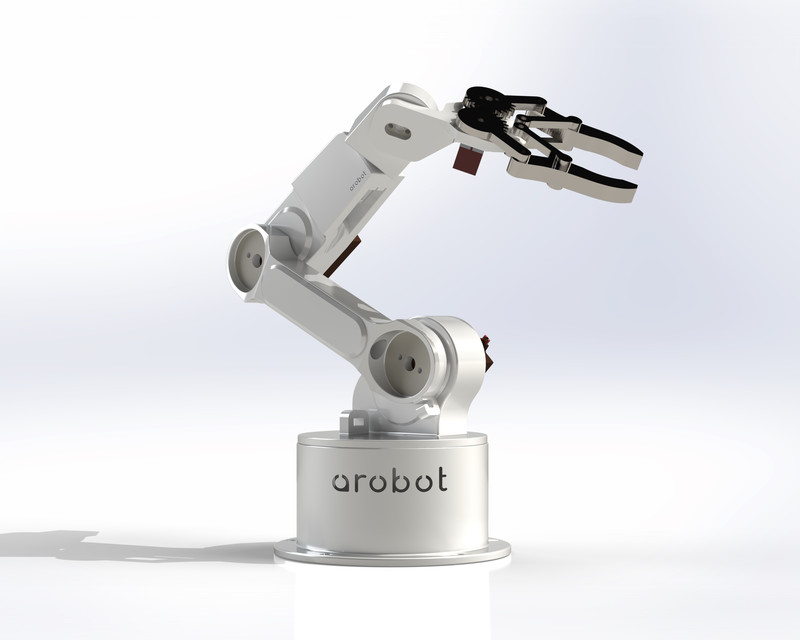 Robotic Arm | 3D CAD Model Library | GrabCAD