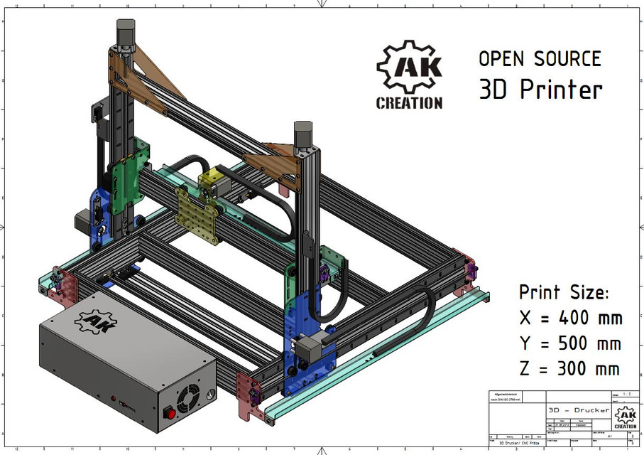 3d Printer Router Step Iges Autodesk Inventor
