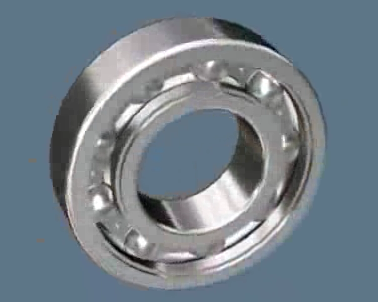 Single Row Ball Bearing Assembly Animation