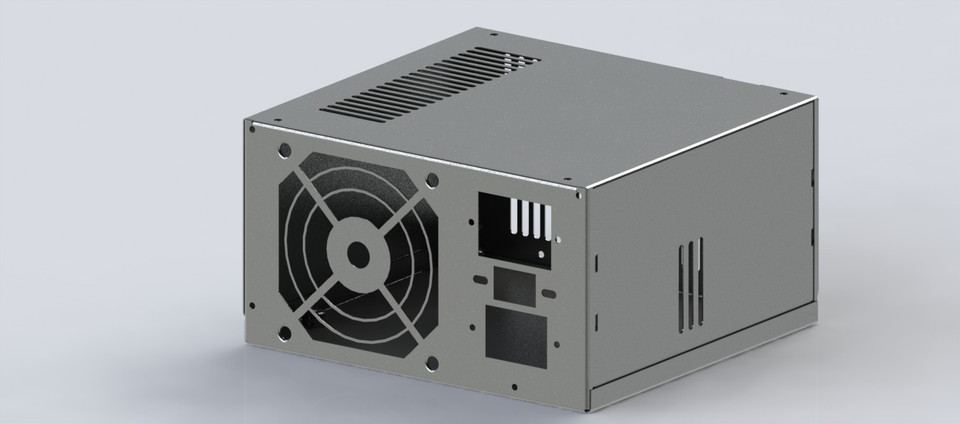 SMPS ( Switch mode power supply ) | 3D CAD Model Library | GrabCAD