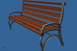 bench for the park