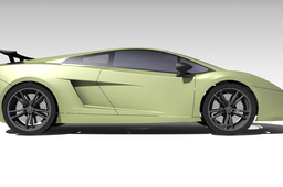 basic shape of Lamborghini Gallardo