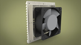 Fan for Cabinet Adjustable