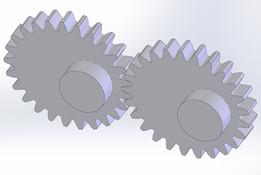 Elliptic gears