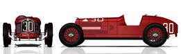 Alfa Romeo P2 ´s wheel