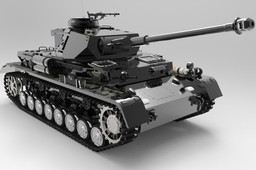 Panzerkampfwagen IV - Scale 1-35 - German Military Tank WW2