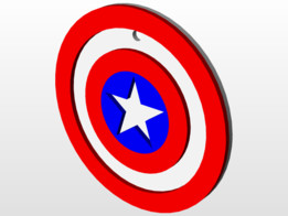 Captain Ameriac Shield