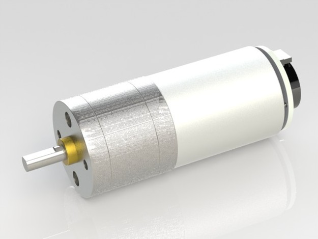 Pololu 75 1 Gear Motor With Encoder Step Iges