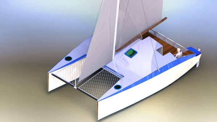 CATAMARAN KD 860 SAIL CATAMARAN BLUE WATER