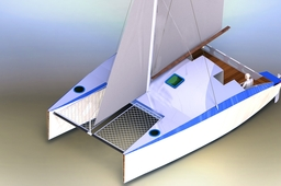 KD 860 SAIL CATAMARAN BLUE WATER