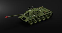 TANK SU-100  tenk
