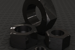 Heavy Jam, Jam, and Normal Hex Nut - 88 Sizes