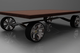 Table on wheels