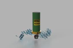 Pesticide Drone Attachment