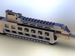 Upper forearm, railed, for VZ.58
