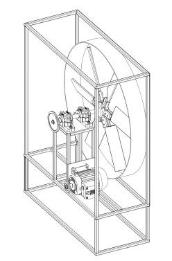 Industrial axial fan - ipari ventilátor