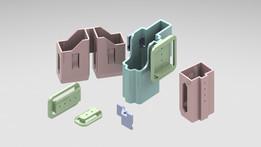 3D printed glock holster