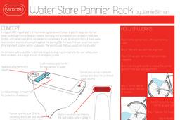 Water Store Pannier Rack