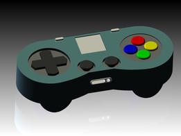 modernized SNES controller