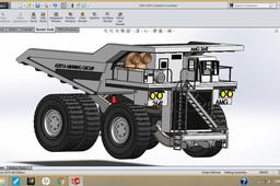AMG 264T- Earth mover/Dumper