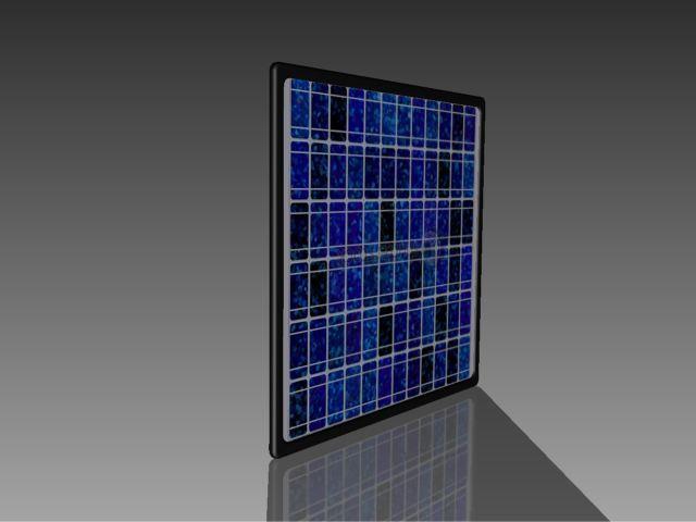 Solar Panel 3d Cad Model Library Grabcad
