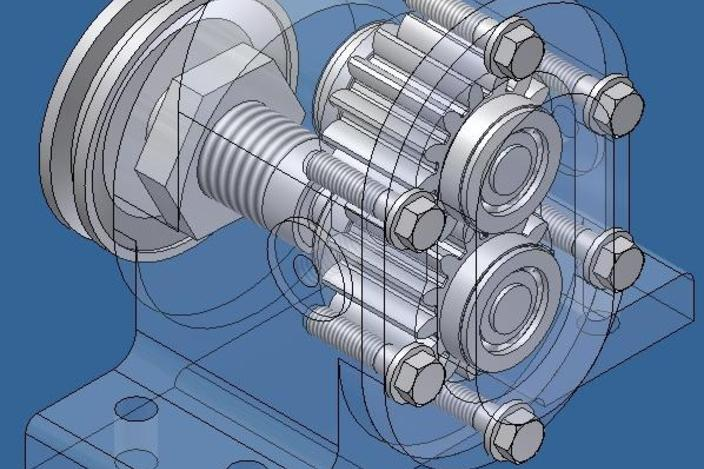 Gear pump in autocad autocad other 3d cad model grabcad Cad models