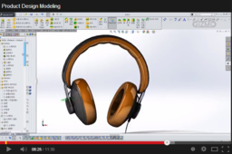 [SOLIDWORKS DEISGN] Product Design Modeling Headphone
