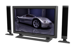 flat screen TV -3d studio  format