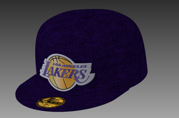 Lakers New Era Cap