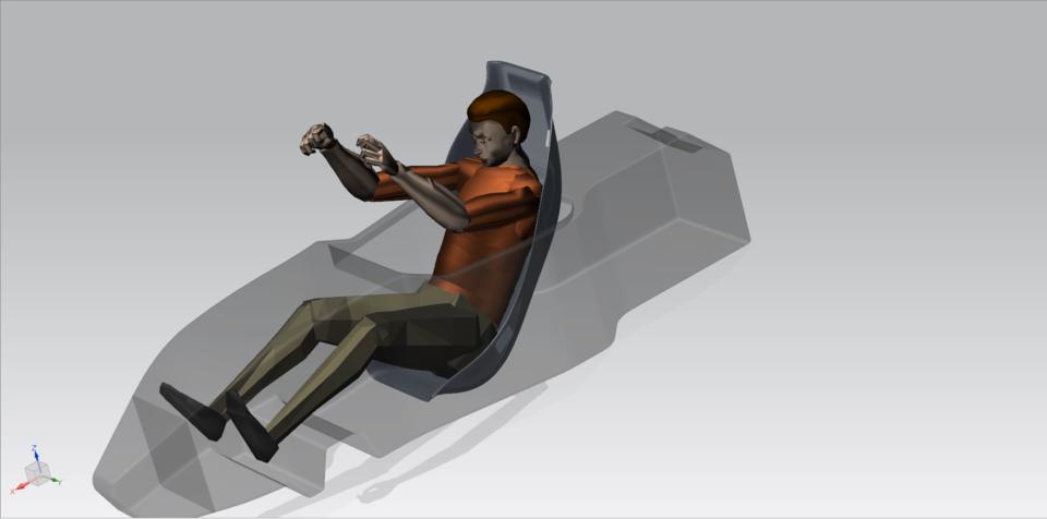 Seat Design for student formula car | 3D CAD Model Library