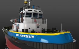 Virtual Shipyard: SMIT Denemarken Tug - update4
