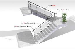Handrail- Stainless Steel