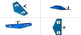 Delta wing UAV