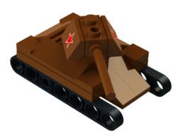 Lego Mini T-34 Tank